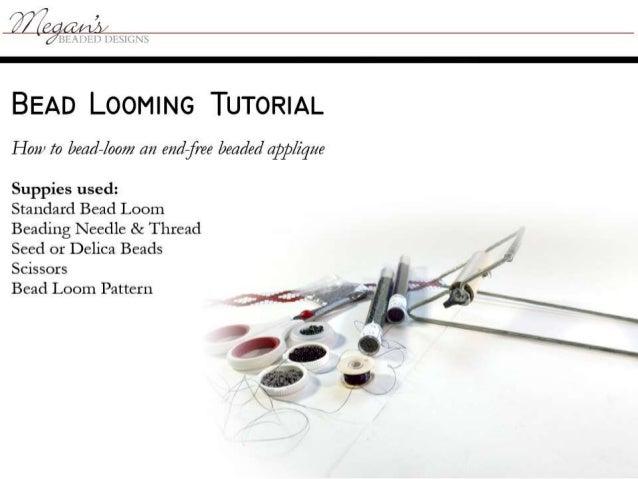 Bead loom tutorial