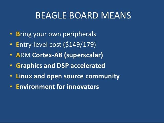 Beagle board Slide 2