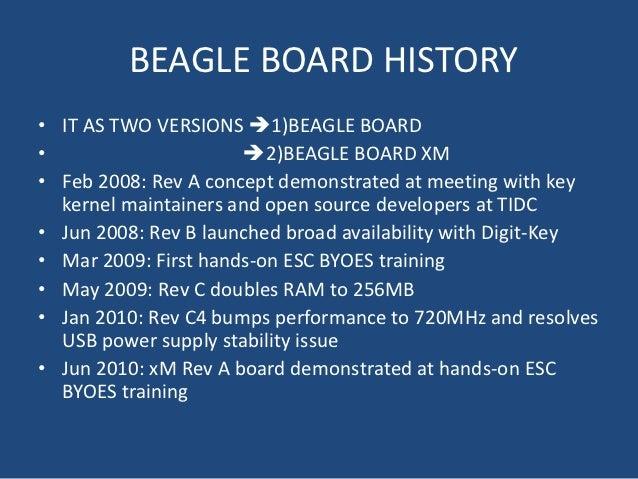 Beagle board Slide 3