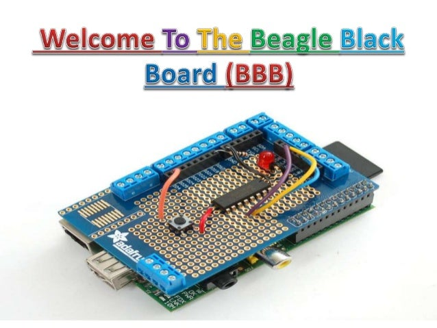 What is Beagle Bone Black..?  It is a low-cost, development platform for developers.  Boot Linux in under 10 seconds and...