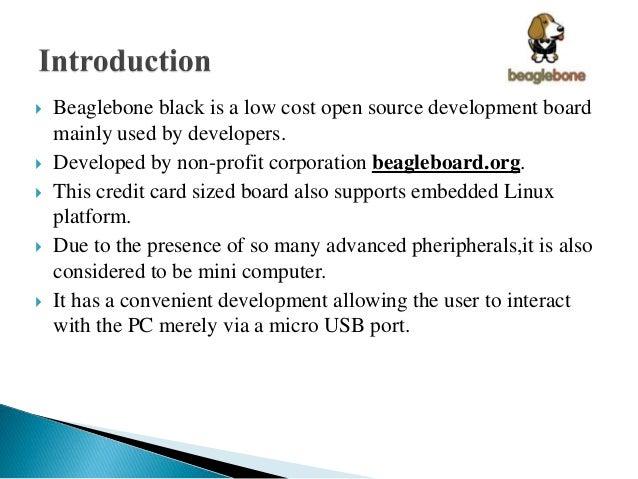 Beagle bone black  by Boddukuri venkata saiteja Slide 3
