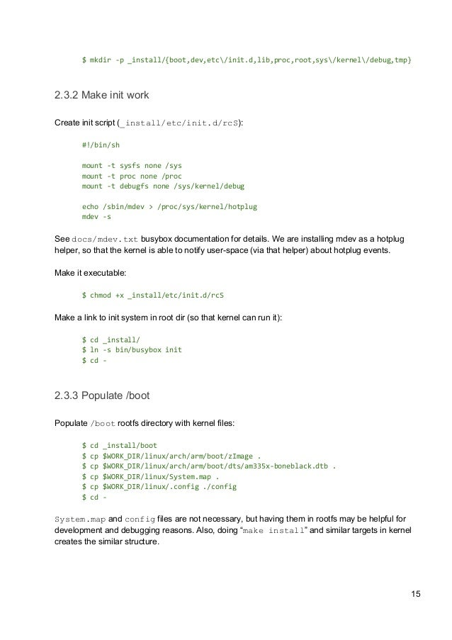 BeagleBone Black: Platform Bring-Up with Upstream Components