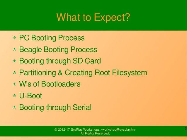 BeagleBoard-xM Booting Process Slide 2