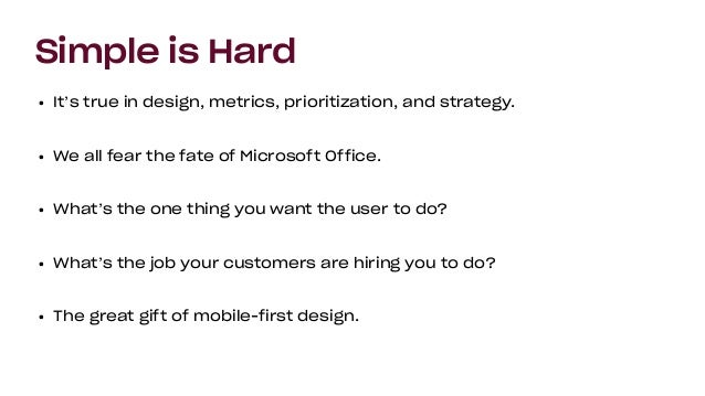 Be A Great Product Leader (Amplify, Oct 2019) Slide 9