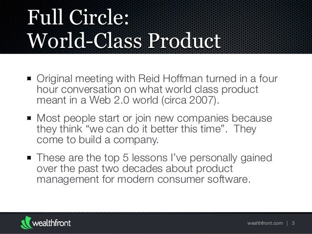 Be a Great Product Leader (Zynga 2016) Slide 3