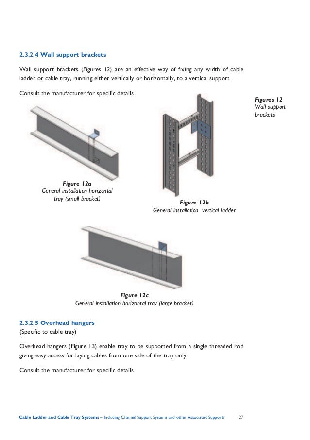 Cable tray penetration details