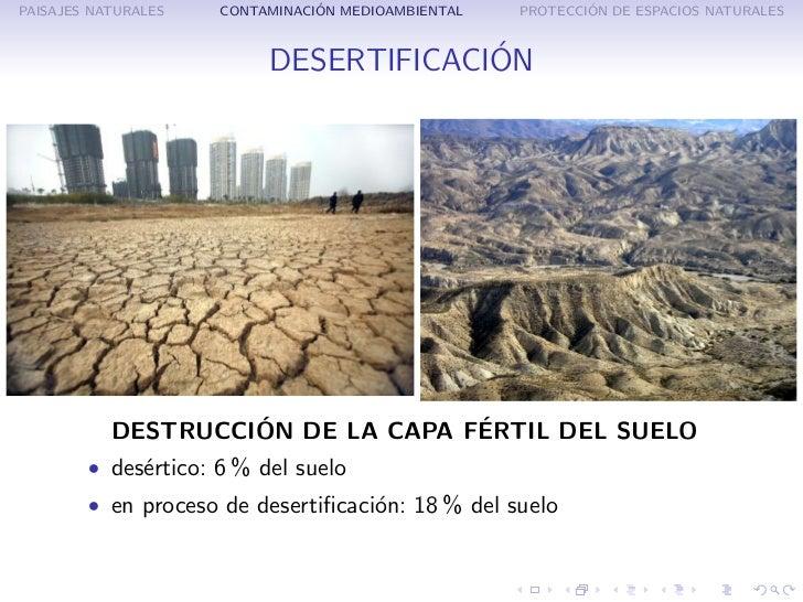 la destrucci n del paisaje