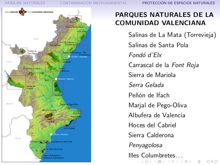 Paisaje natural y actividad humana for Cabanas en los arboles comunidad valenciana