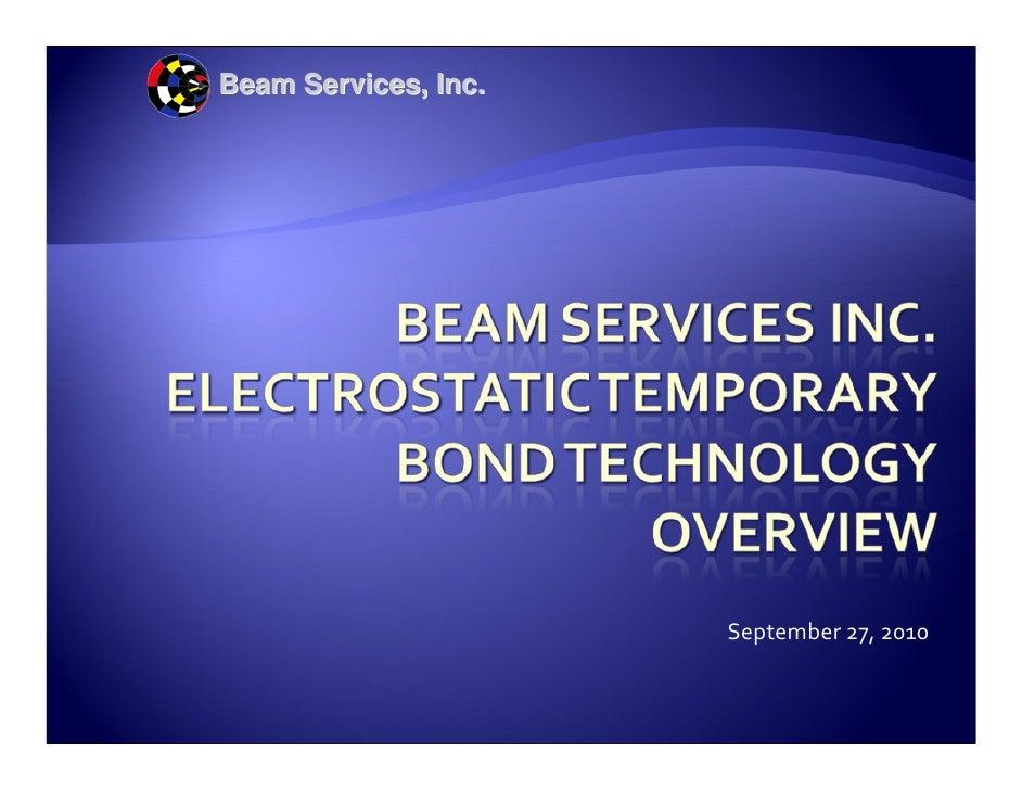 Beam Services, Inc.                           September27,2010