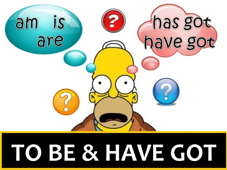 the simpsons to be and to have got