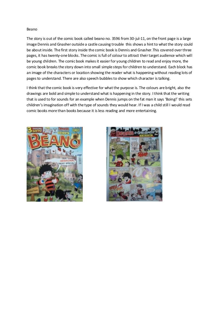 BeanoThe story is out of the comic book called beano no. 3596 from 30-jul-11, on the front page is a largeimage Dennis and...