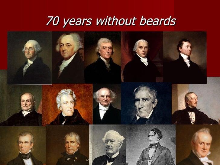 Presidents With Facial Hair