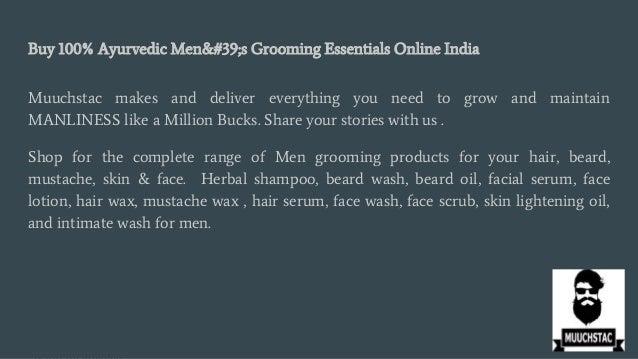 Beard Oil - Buy Best Beard Oil Online in India_ Muuchstac