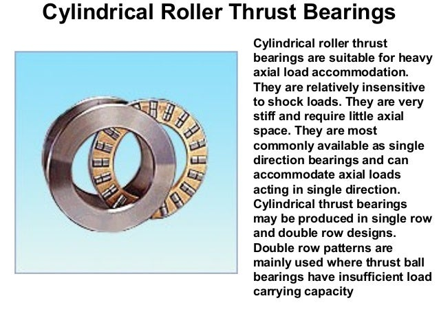 types of bearings and their uses pdf