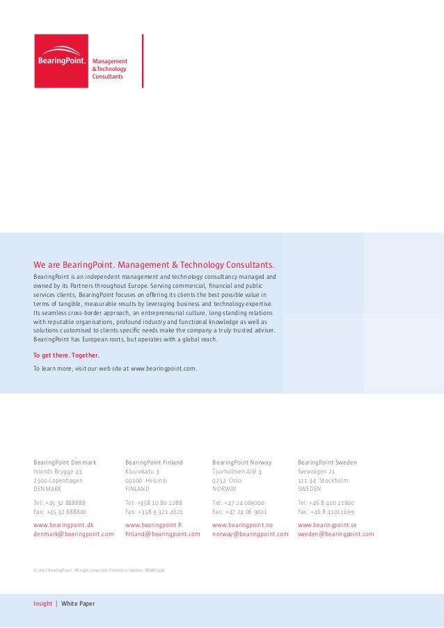 BearingPoint: Beyond the horizon of retail analytics