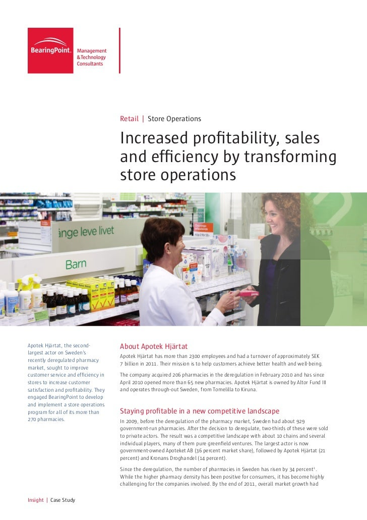 Retail | Store Operations                                       Increased profitability, sales                            ...