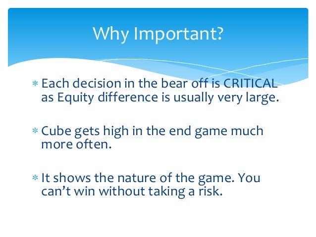 Bear off cube action Slide 3