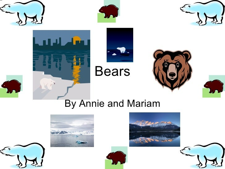 Bears By Annie and Mariam
