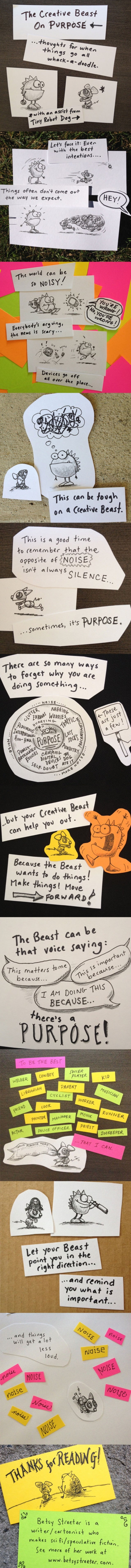 The Creative Beast On Purpose