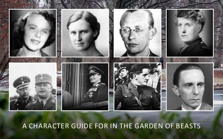 A chArActer guide for in the gArden of BeAsts