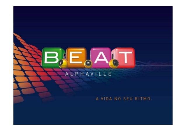 Apresentação da marca/ conceito BeatAlphaville