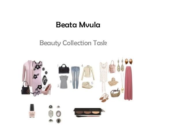 Beata Mvula Beauty Collection Task