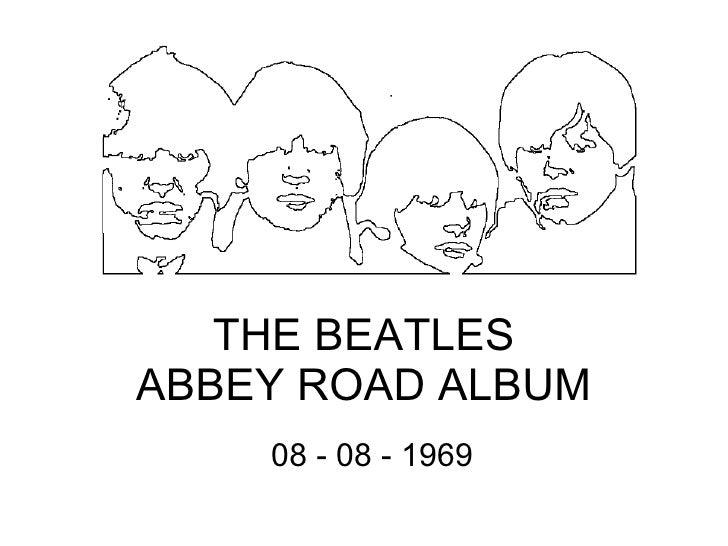 THE BEATLES ABBEY ROAD ALBUM 08 - 08 - 1969