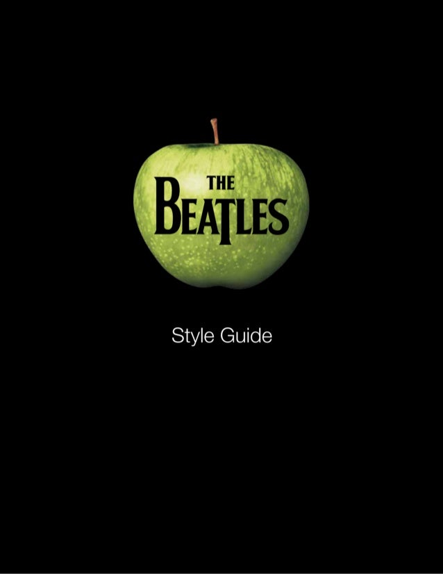 Beatles Style Guide