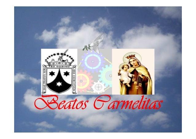 Beatos Carmelitas