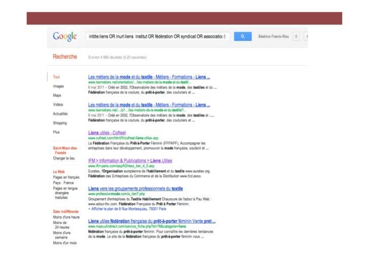 L'utilisation de la fonction « pages en langue étrangèretraduites » permet ici d'identifier des sources comme :- > Le cen...