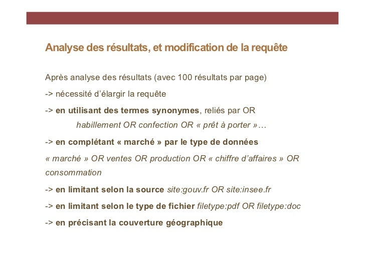 "Requêtehabillement OR confection OR ""prêt à porter"" ""marché""OR production OR vente OR ""chiffres daffaires"" ORconsommation ..."