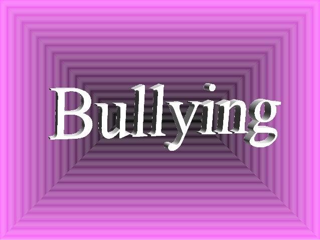 Bullying é : um termo INGLÊS utilizado para descrever atos de VIOLÊNCIA física ou PSICOLÓGICA, intencionais e repetidos, p...