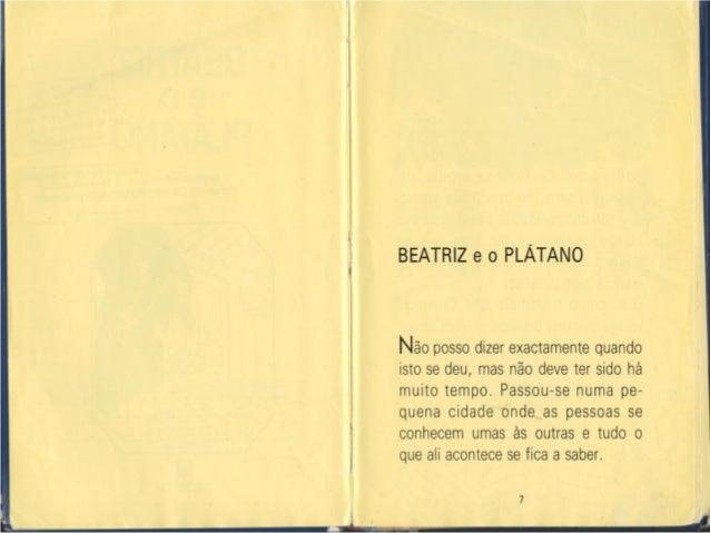 Beatriz e o platano Slide 3