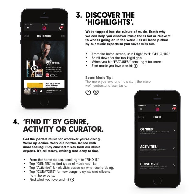 Beats Music in 7 Steps Slide 3