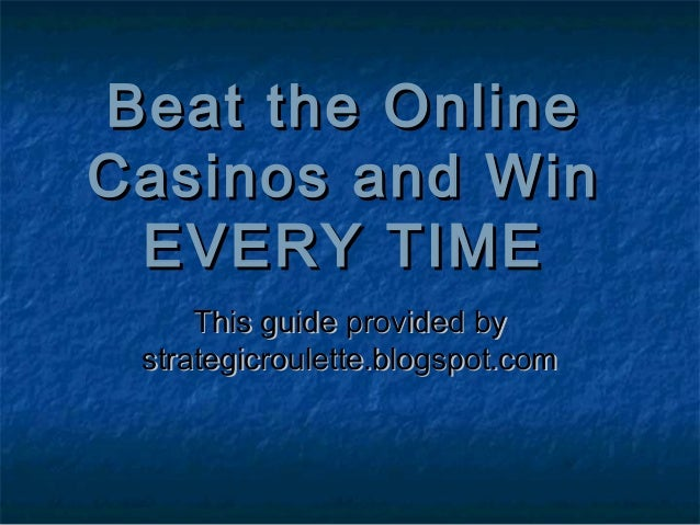beat online casinos