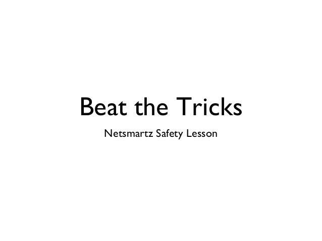 Beat the Tricks Netsmartz Safety Lesson