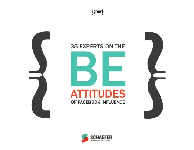 BE35 EXPERTS ON THEATTITUDESOF FACEBOOK INFLUENCE