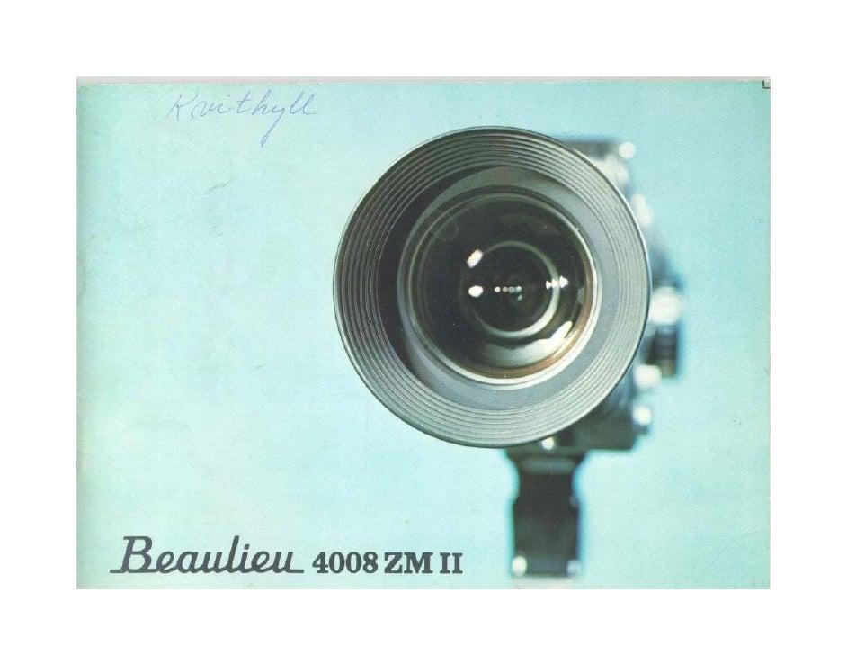 Beaulieu 4008 zm ii user manual_english