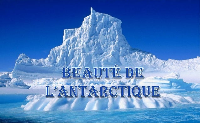 L'Antarctique est le continent situé au   Pôle Sud et entouré par l'océan                Austral.Sa surface est d 'environ...
