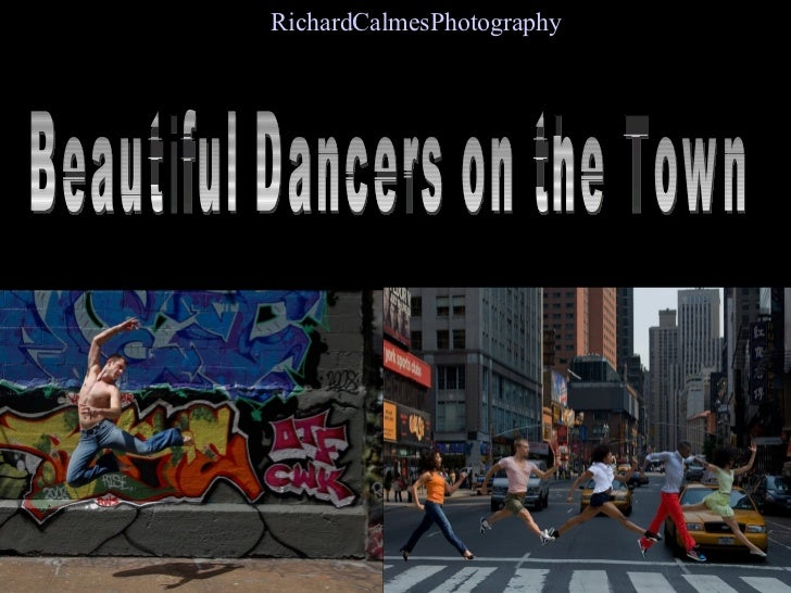 Beautiful Dancers on the Town Richard  Calmes  Photography