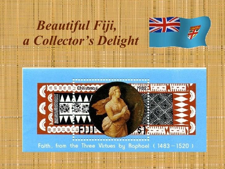 Beautiful Fiji,  a Collector's Delight