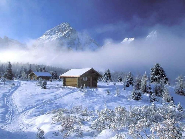 Beautiful World of Snow Slide 2