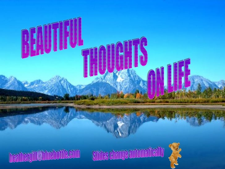 Beautiful Thoughts On Life 01