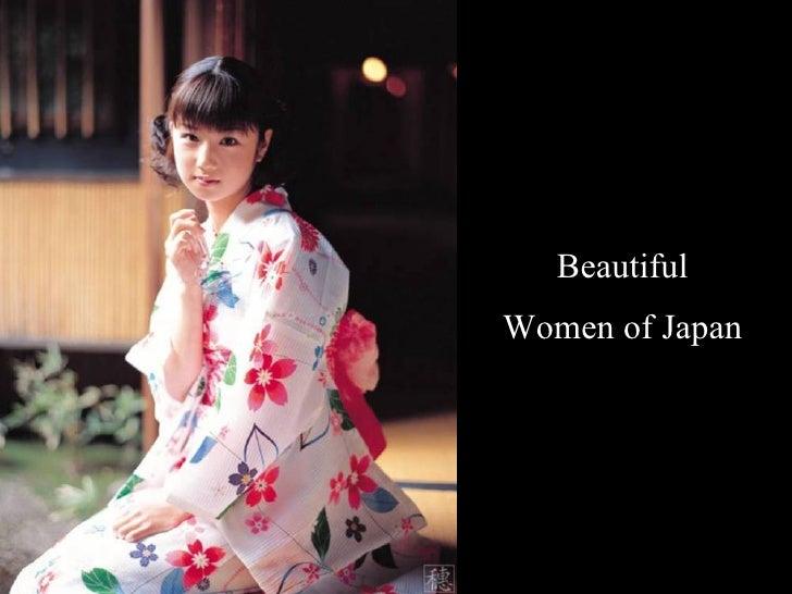 Beautiful  Women of Japan