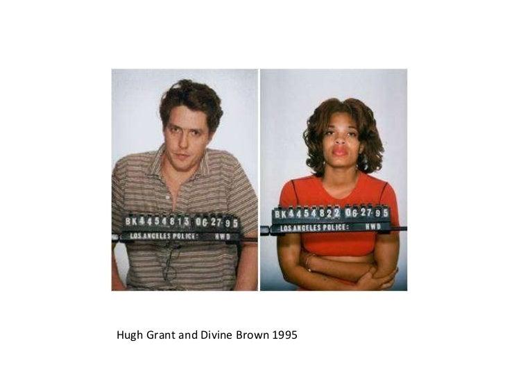 Hugh Grant and Divine Brown 1995
