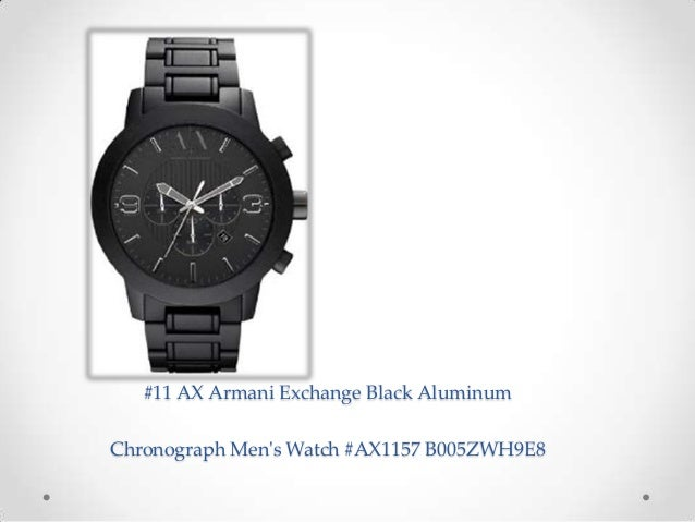 beautiful best armani watches for mens casual black watches 11 ax armani exchange black aluminum chronograph men s watch ax1157 b005zwh9e8 9