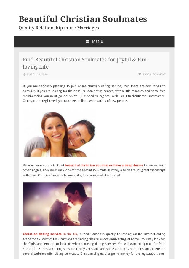 best christian dating free