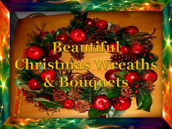 Beautiful<br />Christmas Wreaths<br />& Bouquets<br />