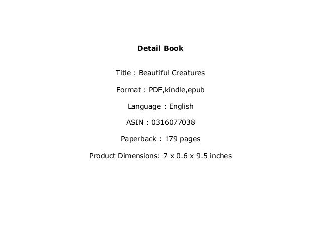 [PDF] The Beautiful Creatures Complete Collection Book by ...