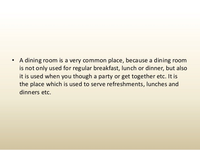 Beautiful Design Tips For The Dining Room Slide 2